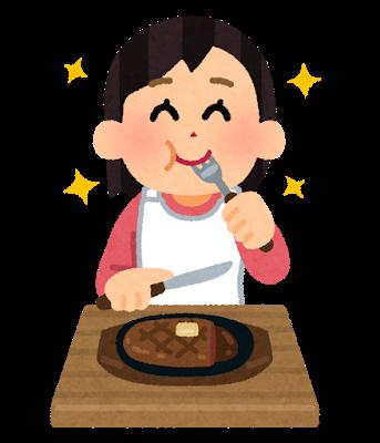 ステーキ 肉 食事.png