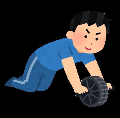 腹筋ローラー ローラー 腹筋 トレーニング 筋トレ.png
