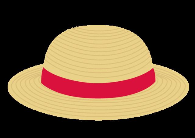 麦わら帽子の無料イラスト.png